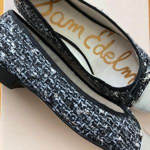 Sam Edelman Shoes - Sam Edelman Tweed Ballet Flats